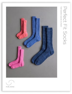 Perfect Fit Socks Pattern Download