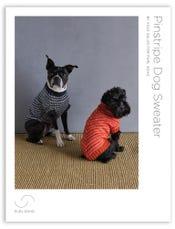 Pinstripe Dog Sweater Pattern Download