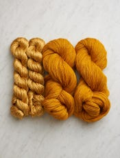 Knit Shiny + Matte Wrap Bundle, Warm Honey-swatch