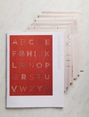Alphabet Sampler Pattern + Transfers