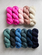 Yarn for Amazing Seed Stitch Wrap