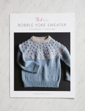 Bobble Yoke Sweater Pattern