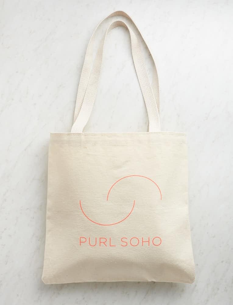 Purl Soho Tote, New Logo