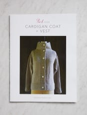 Cardigan Coat + Vest Pattern
