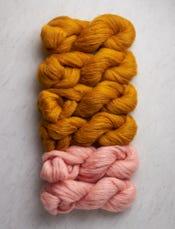 Saffron Yellow + Tea Rose-swatch