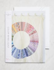 Color-Wheel Quilt Pattern + Template
