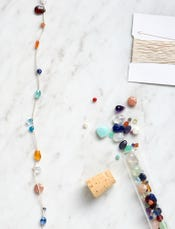 Floating Gemstones Necklace Kit