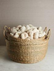 Handwoven Floor Baskets