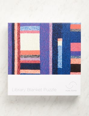 Library Blanket, 1000 pieces-swatch