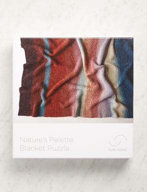 Natures Palette Blanket, 1000 pieces-swatch