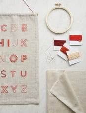Alphabet Sampler Kit