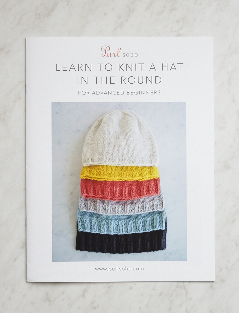 Learn to Knit a Hat in the Round Pattern