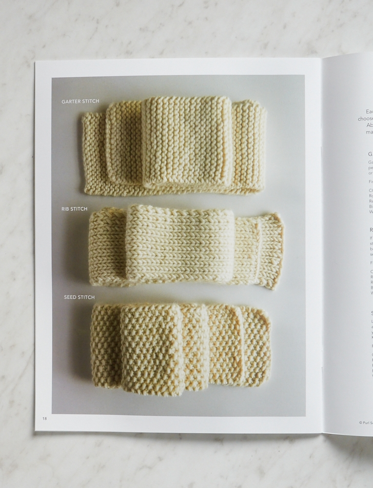 Learn To Knit Pattern