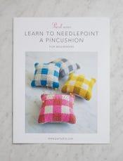 Learn to Needlepoint a Pincushion Pattern