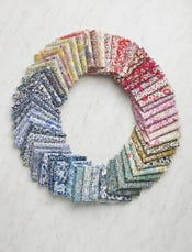 Liberty Color-Wheel Quilt Fat Sixteenth Bundle