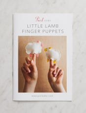 Little Lamb Finger Puppets Pattern