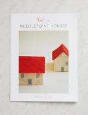 Needlepoint Houses Pattern