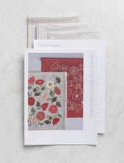 Poppy Garden Embroidery Pattern + Transfers