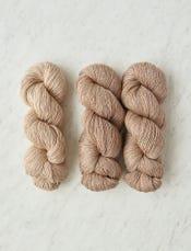Buckwheat Beige (A) + Rye Flour (B)-swatch