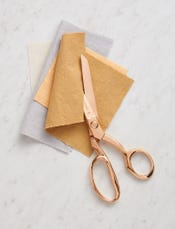 Rose Gold Fabric Shears