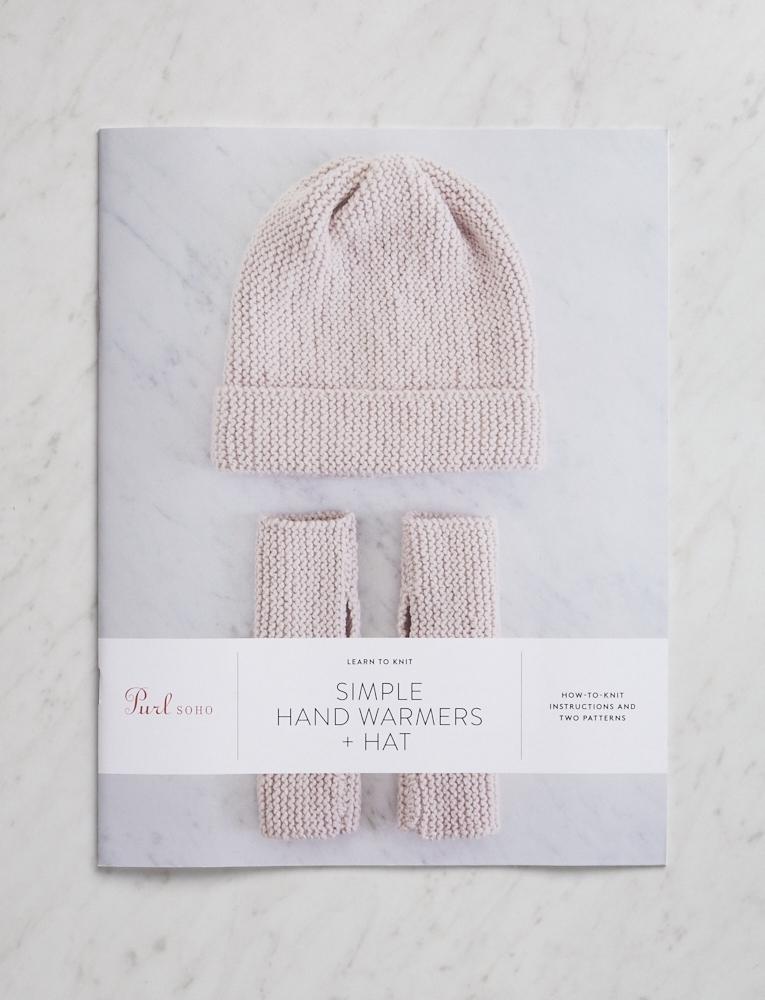 Simple Hand Warmers Hat Pattern