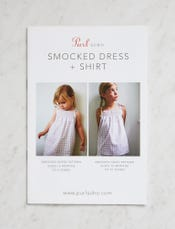 Smocked Dress + Shirt Pattern Download