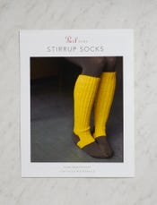 Stirrup Socks Pattern