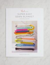 Super Easy Sewn Blanket for Beginners Pattern