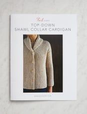 Top-Down Shawl Collar Cardigan