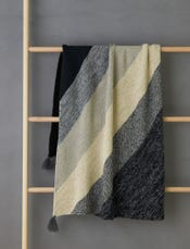Rectangular Colorblock Bias Blanket Bundle