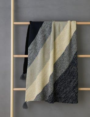 Rectangular Colorblock Bias Blanket Bundle