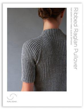 Ribbed Raglan Pullover Pattern Download