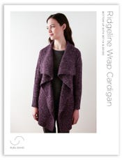 Ridgeline Wrap Cardigan Pattern Download
