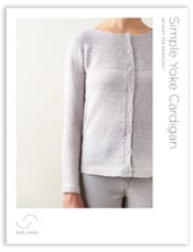Simple Yoke Cardigan Pattern Download