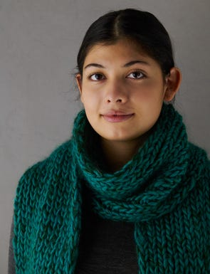 Three-Yarn Scarf Gift Bundle