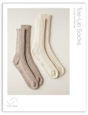 Toe-Up Socks Pattern Download