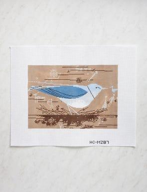 Charley Harper: Mountain Blue Bird
