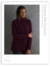 Twisted Rib Pullover Pattern Download