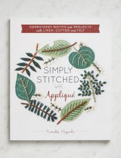 Simply Stitched with Appliqué by Yumiko Higuchi
